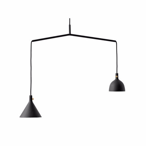 Menu Cast Pendant Shape 4 Black