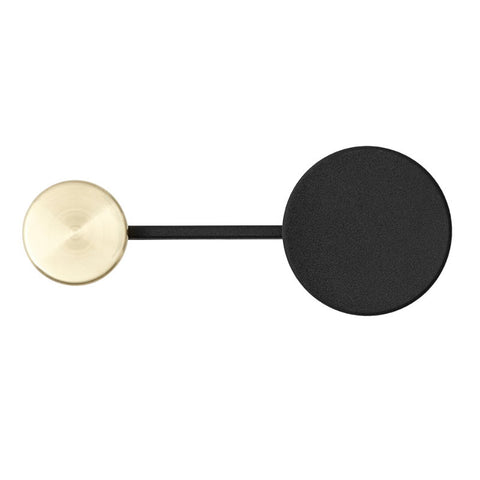 Menu Afteroom Coat Hanger Small Black/Brass