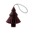 Nordstjerne Dark Red Paper Tree Ornament