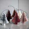 Nordstjerne Dusty Rose Paper Onion Ornament