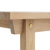 Normann Oak Slice Dining Table