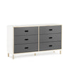Normann Kabino Dresser with 6 Drawers