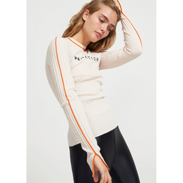 PE Nation Ace Action LS Knit Top