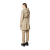 Rains Curve Jacket Beige