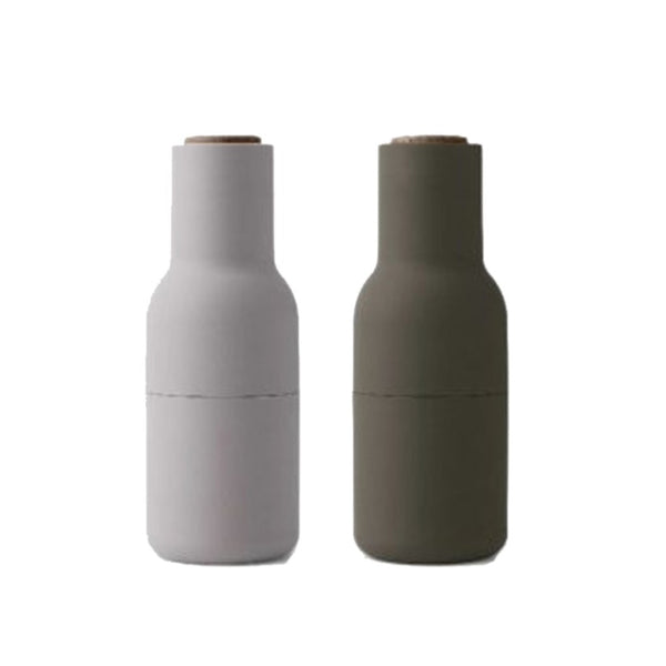 Menu Bottle Grinder Set Beige/Green