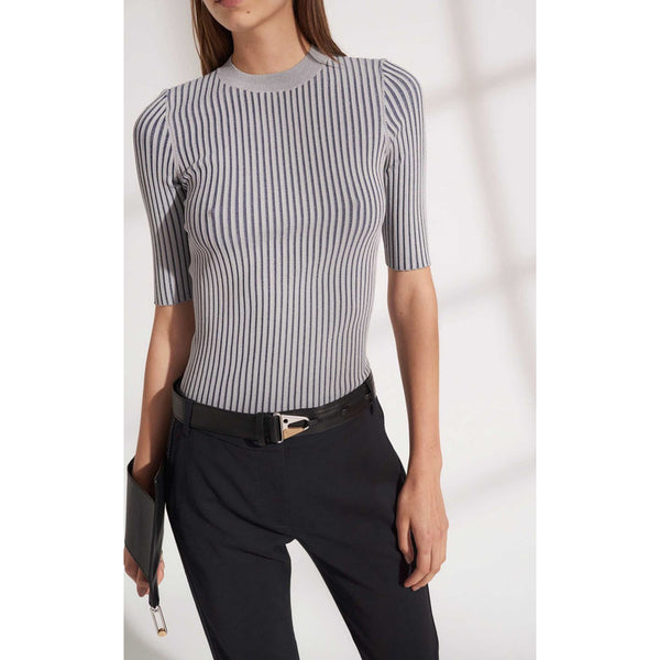 Dion Lee Stripe Rib Tee