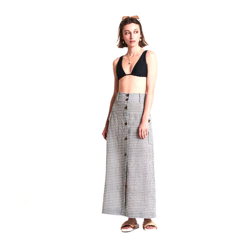 Le Stripe Out Of Africa Safari Skirt