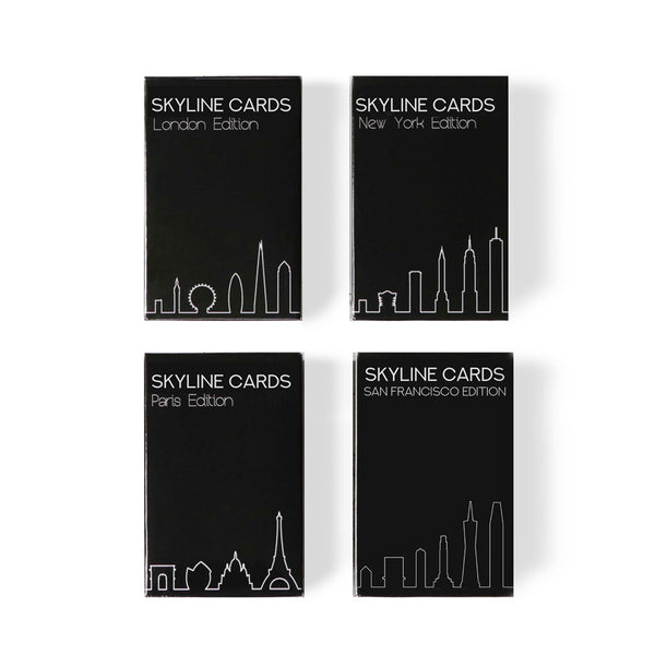 Skyline Chess City Playing Cards