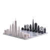 Skyline Chess New York Vs London Special Edition with Carrara Marble Board