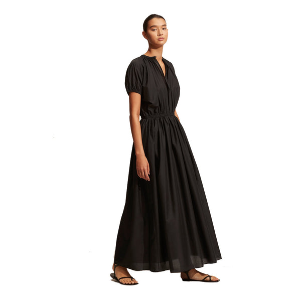 Matteau Black Cocoon Long Dress