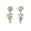 Alex Monroe Coral Reef Drop Earrings