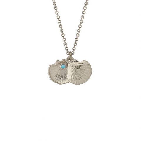 Alex Monroe Open Shell & Opal Necklace