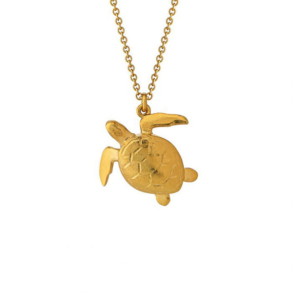 Alex Monroe Sea Turtle Necklace