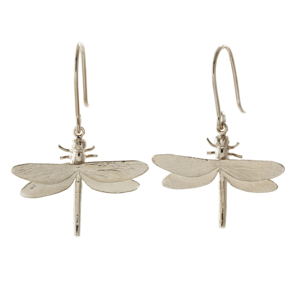 Alex Monroe Classic Dragonfly Hook Earrings