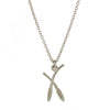 Alex Monroe Fennel Seed Sprig Necklace