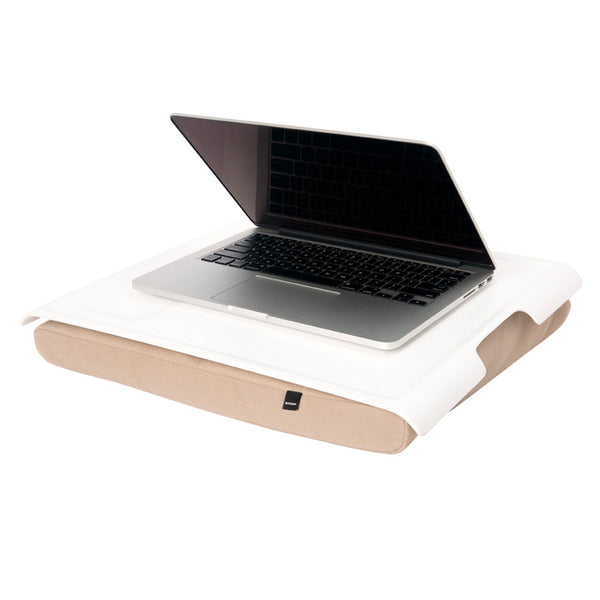 Bosign Laptray White/Brown
