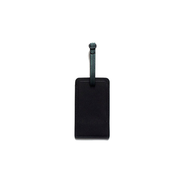 Corban and Blair Elliot Mason Leather Luggage Tag