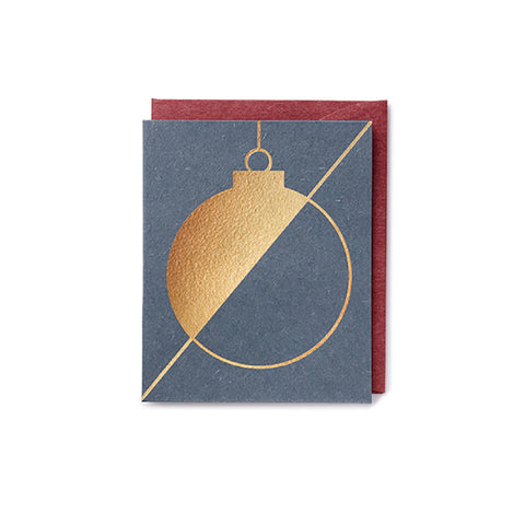 Darling Clementine Greeting Card Bauble