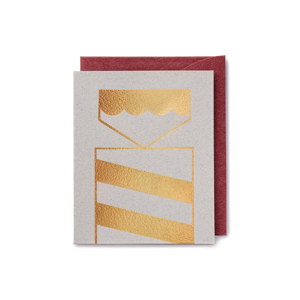 Darling Clementine Greeting Card Cracker