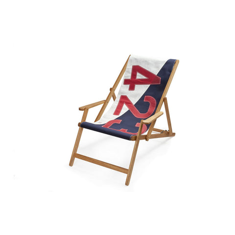 727 Sailbags Le Transat Deck Chair with Armrests