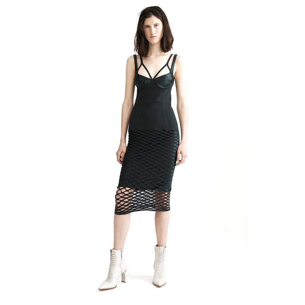 Dion Lee Honeycomb Perforated Dress