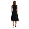 Dion Lee Bonded Crepe Encased Wrap Dress