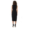 Dion Lee Cinched Plisse Side Twist Dress