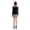 Dion Lee Interlayer Rib Neck Long Sleeve Knit