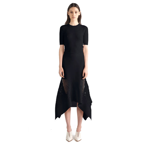 Dion Lee Lory Honeycomb Drape Skirt