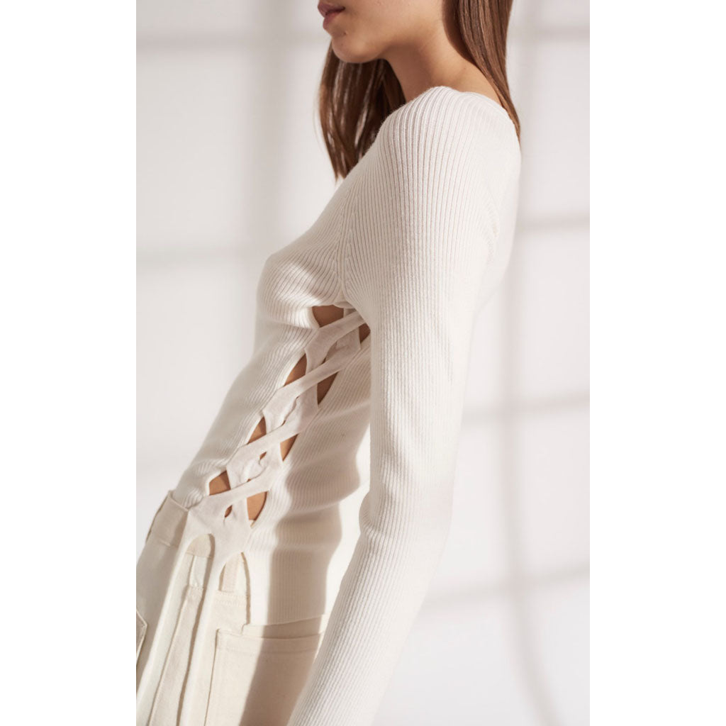 Dion Lee Open Cable Long Sleeve Top