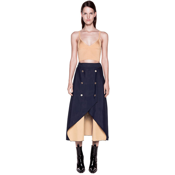 Dion Lee Evening Rib Crop