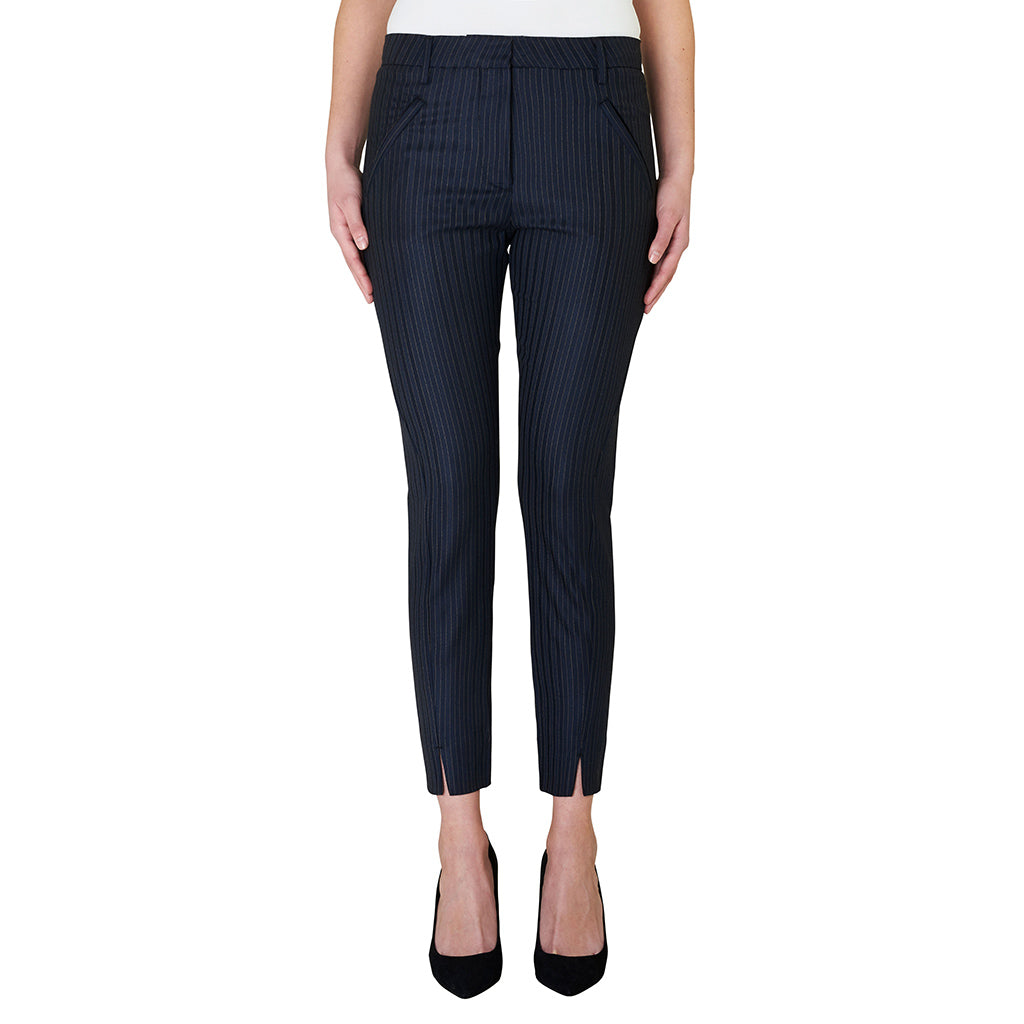 Fiveunits Angelie Split 662 Black Pinni Pant
