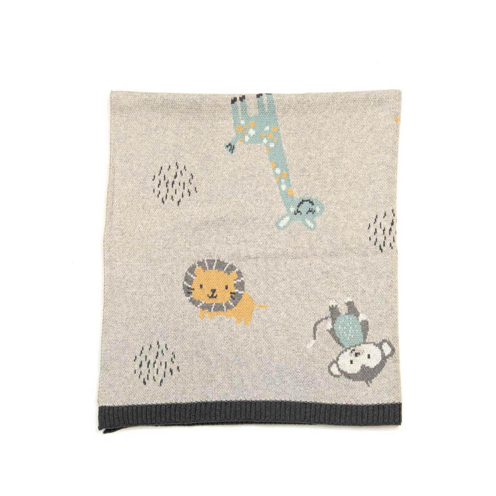 Indus Jungle Friends Blanket