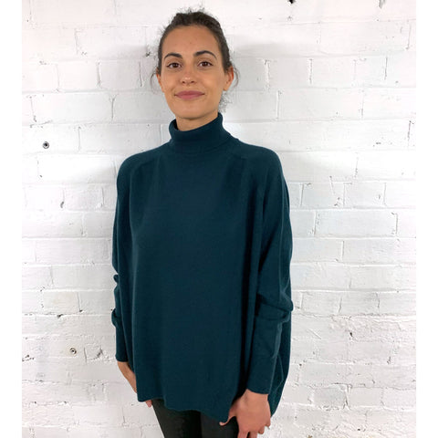Jumper 1234 12G Oversize Saddle Roll Cashmere Jumper