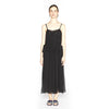 Lee Mathews Hariette Silk Gathered Slip Dress