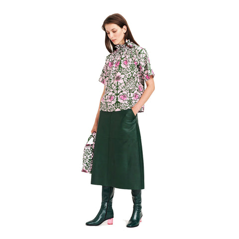 Marimekko Termi Leather Skirt
