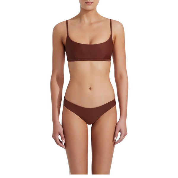 Matteau Crop Top Rust