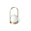 Menu Carrie Brushed Brass LED Lamp