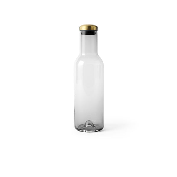 Menu Smoke/Brass Bottle Carafe 1 Litre
