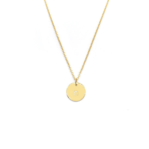 Natalie Marie Mini Initial Necklace