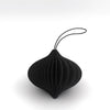 Nordstjerne Sustain Black Paper Onion Ornament