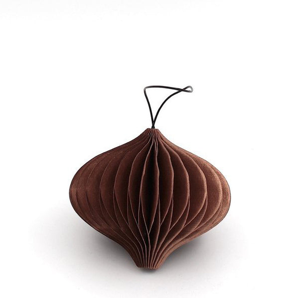 Nordstjerne Sustain Copper Paper Onion Ornament