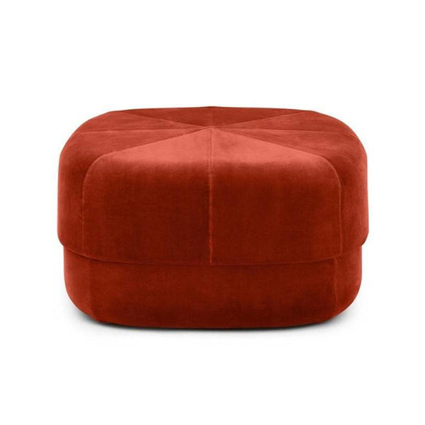 Normann Circus Velour Large Pouf