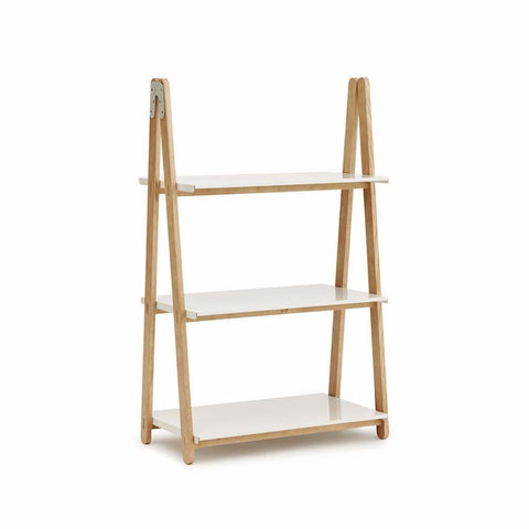 Normann One Step Up Low Bookcase White