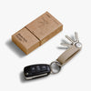 Orbitkey Cactus Leather Key Organiser