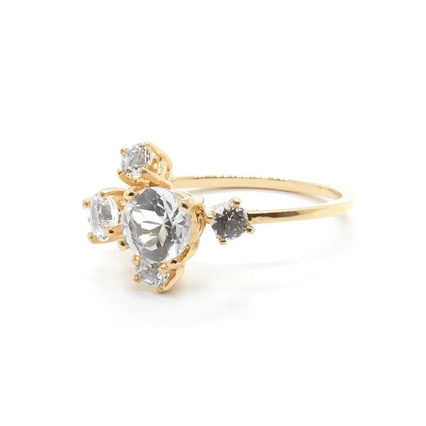 Natalie Marie Precious Cluster Ring