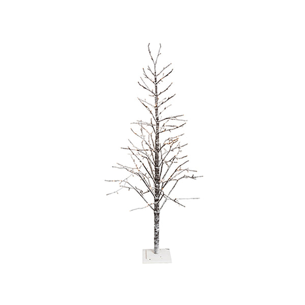 Spruce LED Tree Brown Snow