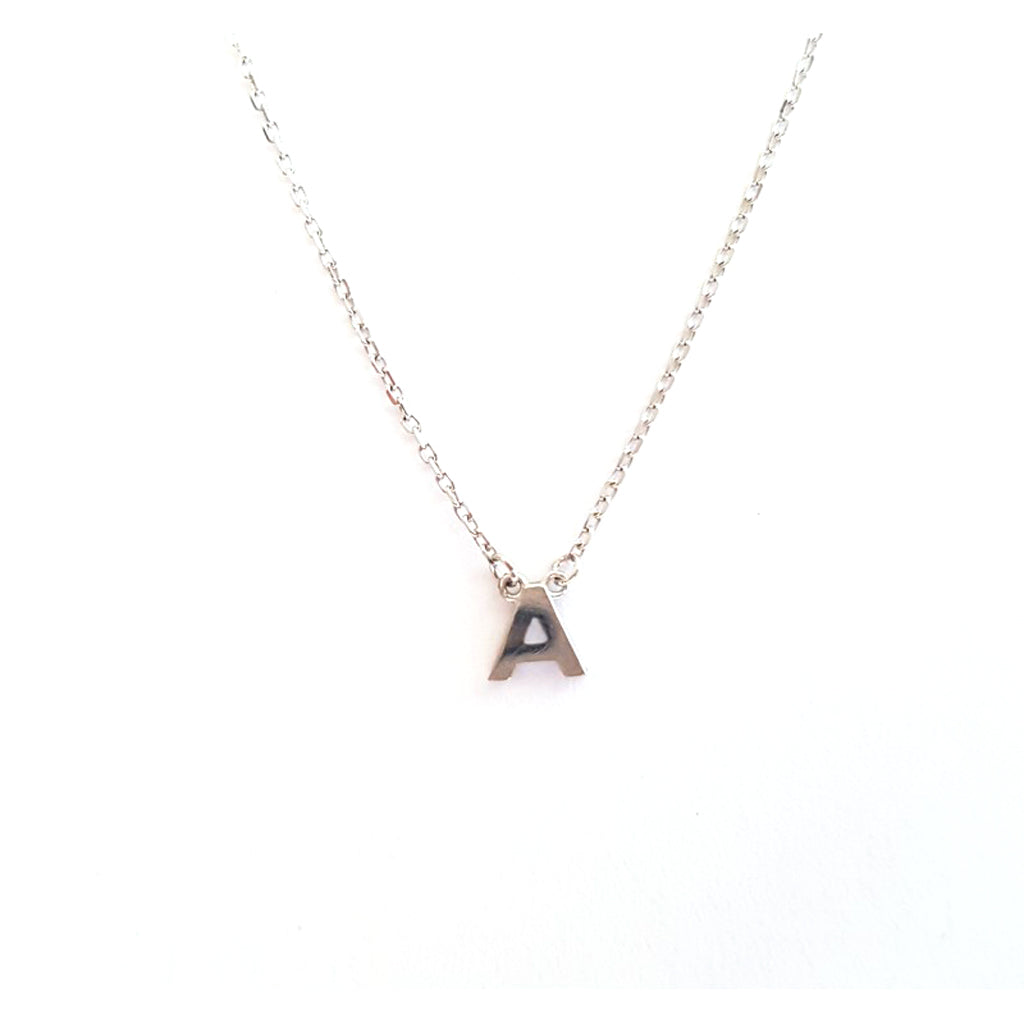 Stem Letter Necklace