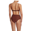 Matteau High Waist Brief Rust