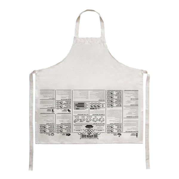 Suck UK Apron Cooking Guide BBQ